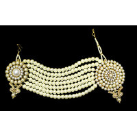 Zaveri Pearls Flower Design passa-ZPFK2909