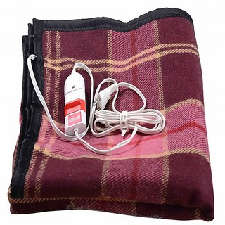Comfort Electric Blanket Single Bed