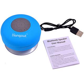 Hangout-Latest-Waterproof-Bluetooth-Speaker-HBT-201(Blue)