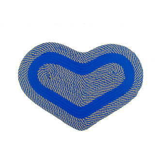 Furnishing Zone Heart Shape Soft Cotton Door Mat