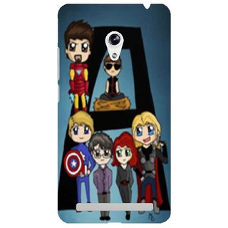 The Fappy Store Avengers-Phone-Case Plastic Back Cover Asus Zenphone 5