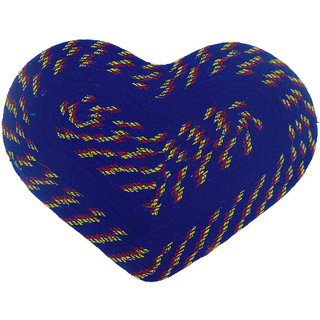Furnishing Zone Heart Shape Soft Polyester Door Mat