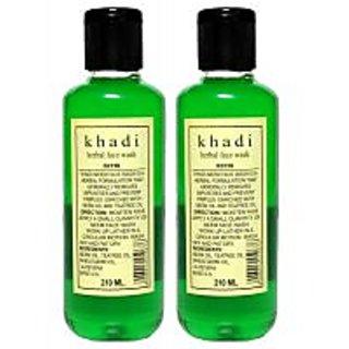 Khadi Herbal Neem Face Wash (Twin Pack) 420ml