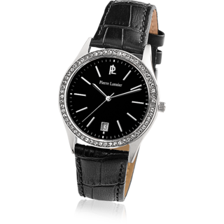 Pierre Lannier Women's Stylish Black Watch