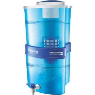 Eureka Forbes Aquasure Xtra Tuff Gravity Based 15 Ltr Water Purifier (Blue)