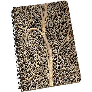 meSleep wood carving Abstract NotePad
