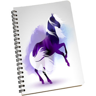 meSleep Purple Horse Notpad