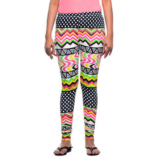 JAZZUP Cotton Printed Women Leggings