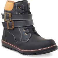 ADYBird AsparagusBlack Boot 0754