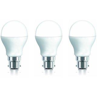 iAura 7W LED Bulb(White ,Pack Of 3 )