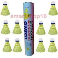 COSMO PLASTIC SHUTTLECOCK PACK OF 10 PCS