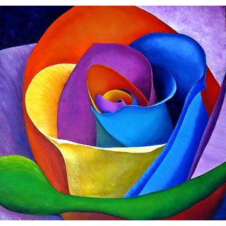 Seeds-Rainbow Rose - 10 With Instruction Paper