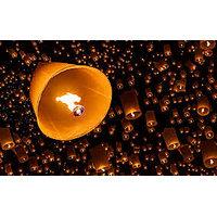 Sakura Sky Lanterns|Wish Lanterns|Diwali Gift|Pack Of 10