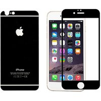 Ygs Tempered Glass Screen Protector Front And Back For Apple Iphone 6 (47 Inches)-Black