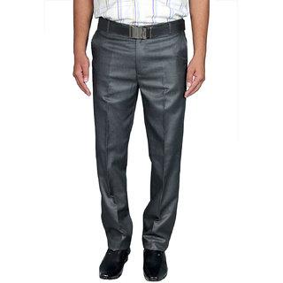 Men's Black Slim Fit Formal Pants