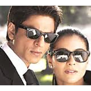 Shah Rukh Khan  Wayfarers. Sunglasses Black