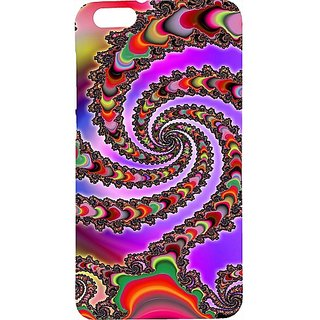 Casotec Snake Colorful Ilusion Print Design Hard Back Case Cover For Huawei Honor 4X