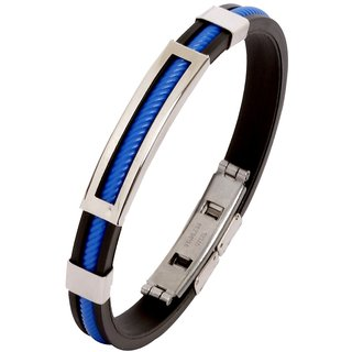 The Jewelbox   Stainless Steel Openable Kada Bracelet for Men available at ShopClues for Rs.179