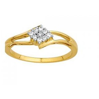 Ag Real Diamond Pressure Set Fancy Ring # Agsr0070