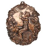 Copper Plated Handmade Wall Art With Amazing Artwork Big Size