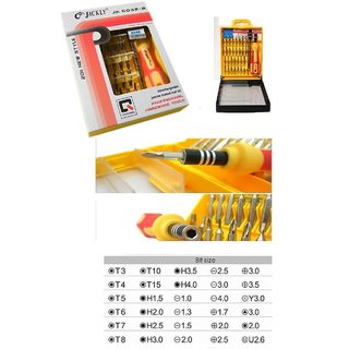 Jackly 31 Piece Magnetic Tool Screwdriver Kit Image