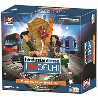 Toy Kraft Hindustan Times-i Love Delhi Board Game