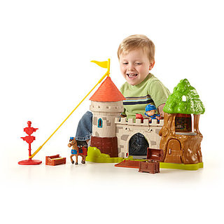 Fisher-Price Castle Playset TV