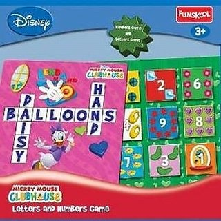Funskool MMCH Letters  Numbs Game Board Game