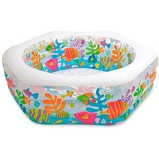 Intex Ocean Reef Pool Inflatable Pool (Multicolour)