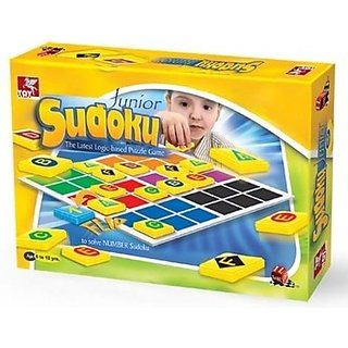ToyKraft Junior Sudoku (Multicolor)