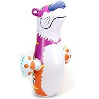 Suzi Hit Me Bear Senior Inflatable Soft (Multicolor)