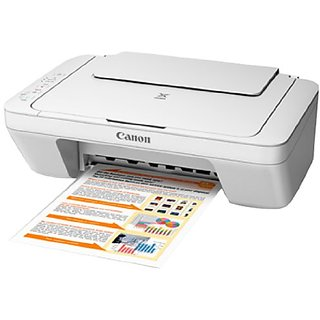 Canon Pixma MG 2570 AIO Inkjet Color Printer With Print, Scan And Copy Functions (Multi-Function)