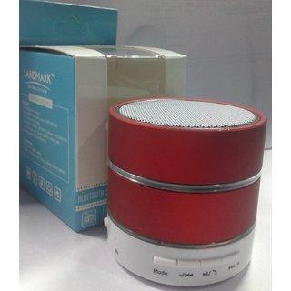 Landmark Mini Bluetooth Wireless LED Speaker RED