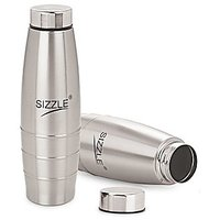 Sizzle Fridge Water Bottle 1000 Ml 2 Pc Set Sfb-501