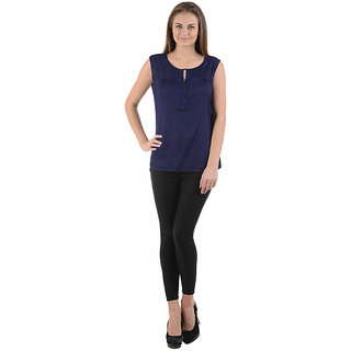 Ektara Womens Nevy Blue Top