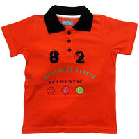 JusCubsprinted And Embroided Realistic League Polo T-Shirt