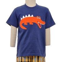 JusCubs Crocodile Blue T-Shirt