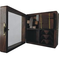 Wasan Chopra  Wooden Cube Set Of Four Puzzles