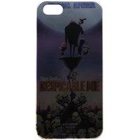 Snooky Metal Finish Designer Hard Back Case Cover For Iphone 5s / 5g Td-6540