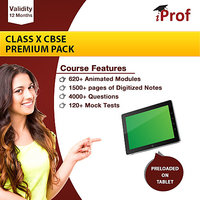 Class 10th CBSE Premium Pack In Educational Tablet