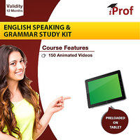 English Speaking  Grammar Study Kit In Educational Tablet