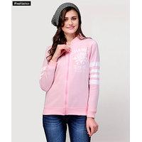 Yepme Adele Zipper Sweatshirt - Pink