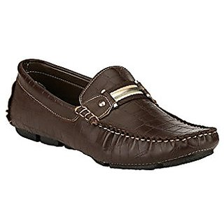 Jacs Comfortable Brown Loafers