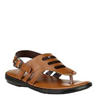 Jacs Tan Stylish Sandals