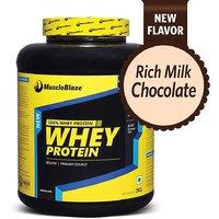 MuscleBlaze Whey Protein  2 Kg / 4.4 Lbs Chocolate
