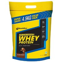 Muscleblaze Whey Protein  4.5 Kg / 9.9 Lbs Milk Chocolate