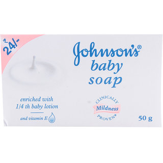 Johnsons Baby Soap - 50gm