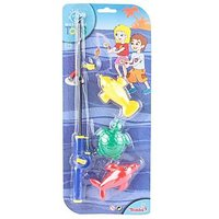 Simba World of Toys Magnetic Fishing Game Set Multi Color