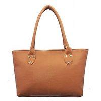 Lady Queen Tan Shoulder Bag