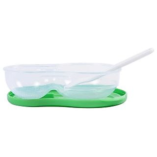 Littles mashing and feeding bowl - Green